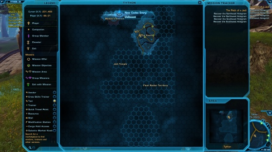Bestiary – SW:TOR Codex Tracking